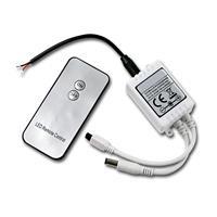 LED Schalter mit IR-Fernbedienung 5-24V/3A, Koax