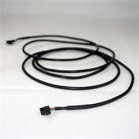 Kabel verlängert den Weg zwischen RGB Streifen und Controller um 2,5 Meter