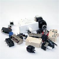 Sammlung von verschiedenen Schalter und Taster für Bastler