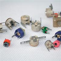 Trimmkondensatoren aus Keramik, ca. 20 Stück im Set, unsortiert