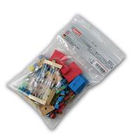 Assortment of foil capacitors approx. 100 pcs