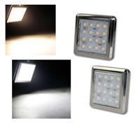 LED lights QUATTRO | full sets | per lamp 16 LED's| 2 colors