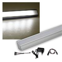 2er Set LED Leiste weiß 50cm STARLINE-mikro +Trafo