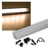 6er Set LED Leiste warm 50cm STARLINE-mikro +Trafo