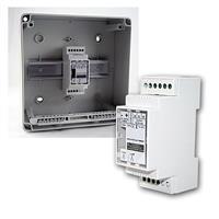 RGB LED Controller/Dimmer für Hutschiene, 12-24VDC