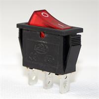 Miniatur Wippenschalter für nachträgliche Kfz-Einbauten