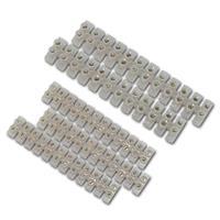 Lüsterklemmensatz 5-teilig, 3x 6A-6mm/2x 15A-12mm