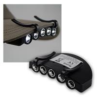 LED Kappenlicht mit 5 LEDs und Klemmvorrichtung