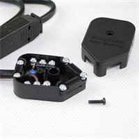 Geräteanschlusskabel mit Anschlussbox für Stromkabel