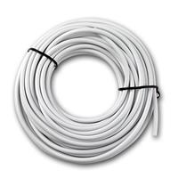 10m RGB cable, 4-wire, Ø3,5mm, white