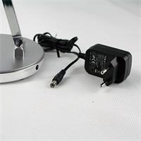 LED Schreibtischleuchte mit Steckernetzteil für 230V und mit nur 3W Verbrauch