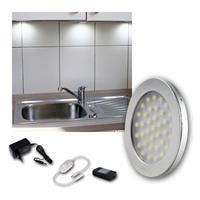 LED Aufbauleuchte ABL-R90 | kaltweiß | 12VDC, 5er Set