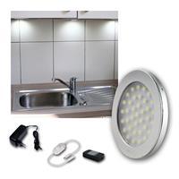 LED Aufbauleuchte ABL-R90 | kaltweiß | 12VDC, 8er Set