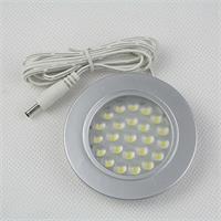 12V LED Leuchtmittel in einem Metall/Kunststoffgehäuse und 95cm DC-Steckverbindungskabel