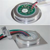 Extraflache 12V LED-Einbauleuchte in 6 Ausführungen