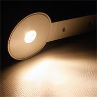 LED Schranklicht mit ca. 160lm Lichtstrom und einer 3W Hochleistungs-LED