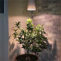 energiesparender LED Strahler mit Lichtfarbe warm weiß