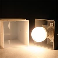 LED Wandstrahler mit ein- oder zweiseitig vertikal abstrahlendem Licht