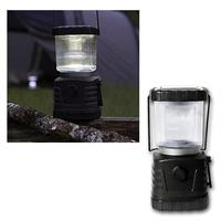 LED-Solar-Campinglaterne, LED kaltweiß 5-30lm