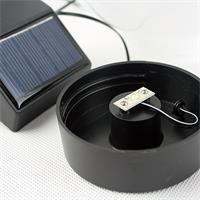 LED Außenbeleuchtung mit Solarpanel und lichtstarker SMD LED