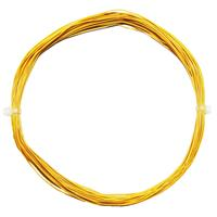 10m Litze flexibel gelb 0,5mm/0,04mm²