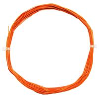 10m Litze flexibel orange 0,5mm/0,04mm²