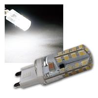 Leuchtmittel G9 64 SMD LEDs 180lm kalt weiß 230V