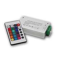 LED RGB controller, IR remote control, 3x4A 12/24V