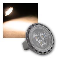 MR11 Leuchtmittel 3x Power-LED warmweiß, 170lm, 2W