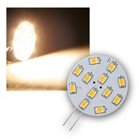 LED light bulb | G4 | 12xSMD | 2W | vertical | warm white