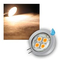 G4 Leuchtmittel 4x 5050 SMD LEDs, warmweiß 190lm