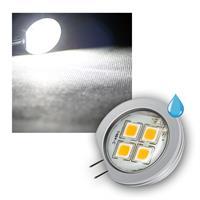 G4 Leuchtmittel 4x 5050 SMD LEDs, kaltweiß 195lm
