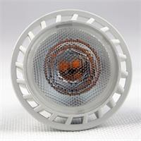 LED Glühbirne GU10 mit 4x Highpower SMD LEDs in einem Kunststoffgehäuse