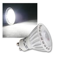 GU10 LED Strahler, 230V/5W, kaltweiß 320lm Spot