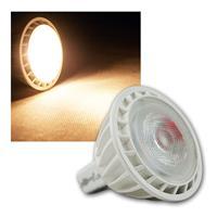 MR16 LED Strahler, 12V/5W, warmweiß 300lm, GU5,3