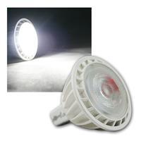 MR16 LED Strahler, 12V/5W, kaltweiß 320lm, GU5,3