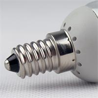 LED Energiesparlampe dimmbar mit Sockel E14 für 230V nur 3,5 W Verbrauch
