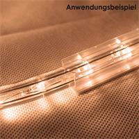 Schiene mit 25cm Länge für gerade Führung von Lichtschläuchen