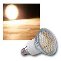 """LED-Strahler """"60x 3528 SMD LEDs"""" E14 warmweiß 3W"""
