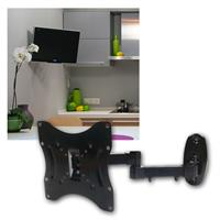 """TV wall mount """"CT-17 + """" tilt and swivel max 30kg"""