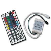 LED RGB Controller mit IR Fernbedienung Extended