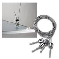 Befestigungs-Set zum Abhängen von LED Panels CTP-62