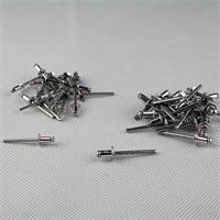 Aluminium Dome Spitze Pop-Nieten in vier verschiedenen Größen