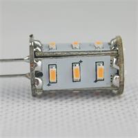 LED Birne G4 12V mit 15 lichtstarken SMD LEDs als energiesparender Ersatz für Halogenlampen