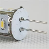Energiespar Leuchtmittel 12V AC/DC Sockel G4 und nur ca. 1,3W Verbrauch