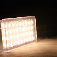 LED Pflasterstein mit 36 warm-weißen LEDs und ca. 94lm Lichtstrom