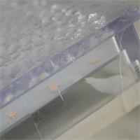 LED Bodeneinbaustrahler IP67 aus Kunststoff begehbar mit 500kg belastbar