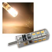 G4 LED Leuchtmittel, 24 SMD warmweiß, 100lm, 360°