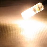 G4 Sockel LED Birne mit ca. 360° Abstrahlwinkel und 100lm Lichtstrom