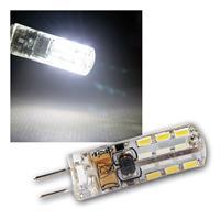 G4 LED Leuchtmittel, 24 SMD kaltweiß, 110lm, 360°